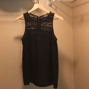 Black lace Stitch Fix top